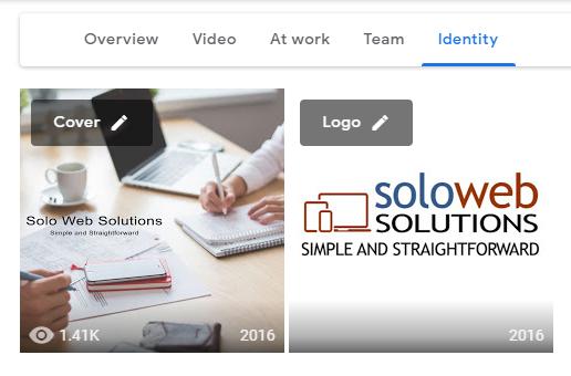Google My Business profile photos